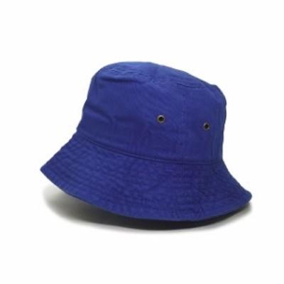 新品 ニューハッタン NEW HATTAN nht003 BLANK BUCKET HAT バケットハット 無地 ROYAL BLUE ロイヤルブルー ヘッドウェア