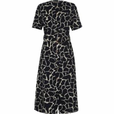 ビバ Biba レディース ワンピース ワンピース・ドレス Linen Safari Dress Giraffe