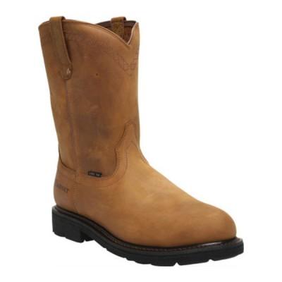 アリアト ブーツ&レインブーツ シューズ メンズ Sierra Steel Toe (Men's) Aged Bark Full Grain Leather