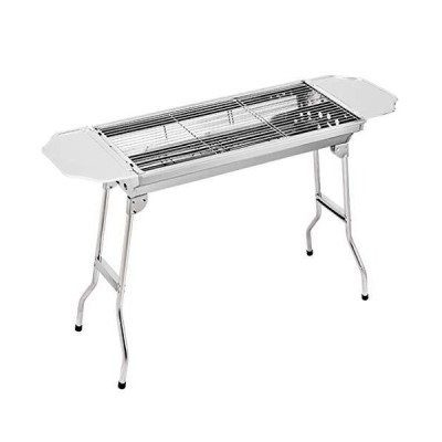 KATUEF Barbecue Grill Portable and Light Charcoal Grill, Foldable BBQ Rack, Suitable for Outdoor Campers, Barbecue Lovers, Outdoor Travel, C