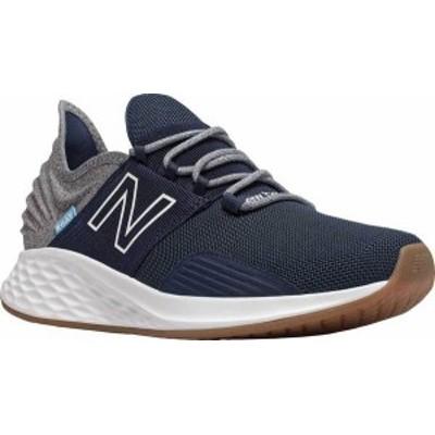 ニューバランス メンズ スニーカー シューズ Men's New Balance Fresh Foam Roav Running Sneaker Natural Indigo/Light Aluminum