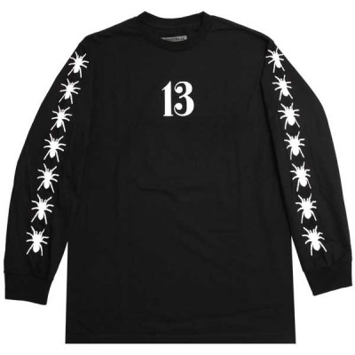 【50%OFF SALE】BEEN TRILL【ビーントリル】13 SPIDER WEB LONG SLEEVE T-SHIRT / BLACK@13800