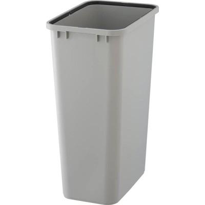 リス『使い易い角型ゴミ容器』 ベルク45S 45L 本体 ライトグレー