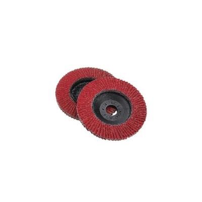 (#001)4インチの赤いコランダムネットまたはプラスチックカバー研磨ホイール研削ディスク
