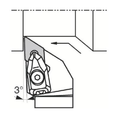 京セラ 外径加工用ホルダ ( DDJNR2020K-1506 ) 京セラ(株) 【メーカー取寄】