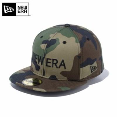 【メーカー取次】 NEW ERA ニューエラ 59FIFTY NEW ERA ブランドネーム ウッドランドカモXブラック 12037933 キャップ / 帽子【Sx】