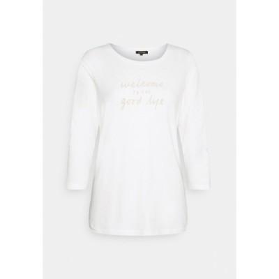 モア アンド モア カットソー レディース トップス Long sleeved top - off white