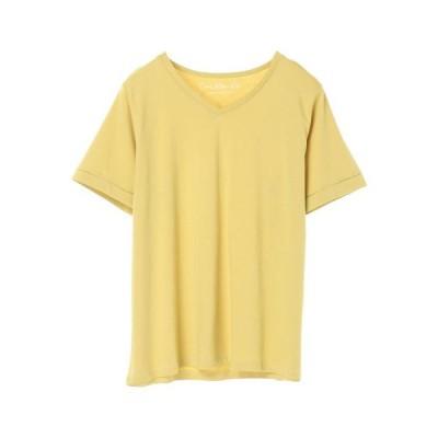 【 送料無料 】グリーンパークス VネックTシャツ レディース 春夏 夏 2020