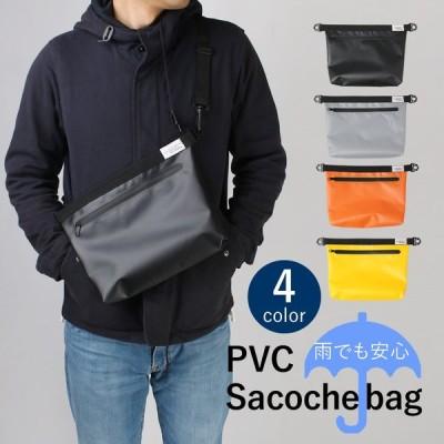 PVC サコッシュショルダーバッグ 撥水性あり 斜め掛けバッグ メンズ レディース 2way フェス アウトドア 送料無料 oth-ux-bag-1809 宅配便のみ clz