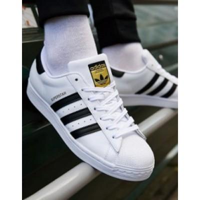 アディダス メンズ スニーカー シューズ adidas Originals Superstar sneakers in white Wh1 - white 1