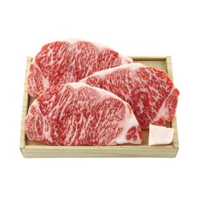 メーカー直送 肉 牛肉 ギフト 松阪牛 ロースステーキ 3枚 & 二反田醤油にんにくソースセット RSTNS60-200MA (1)