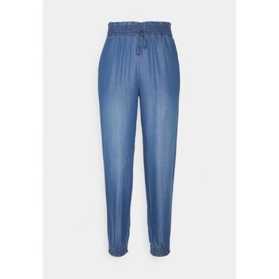 トムテイラーデニム カジュアルパンツ レディース ボトムス HAREMS PANTS - Trousers - used light stone blue