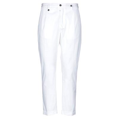 MYTHS パンツ ホワイト 50 コットン 97% / ポリウレタン® 3% パンツ