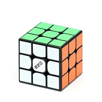 CuberSpeed QiYi MS 3x3 磁気ブラックスピードキューブ Qiyi Mofangge M 3x3x3 マジックキューブ