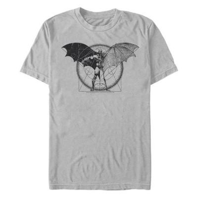 フィフスサン Tシャツ トップス メンズ DC Men's Batman Geometric Schematic Short Sleeve T-Shirt Gray
