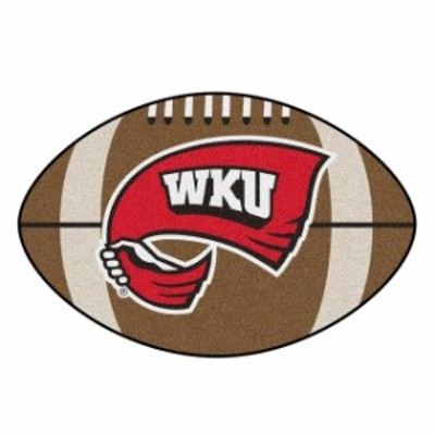 Fan Mats ファン マット スポーツ用品  Western Kentucky Hilltoppers 20.5 x 32.5 Football Mat