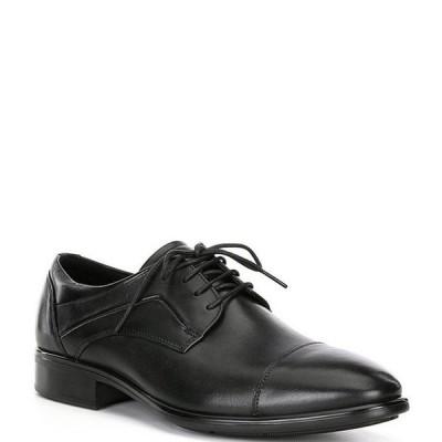 エコー メンズ ドレスシューズ シューズ Men's Citytray Cap Toe Tie Dress Shoes