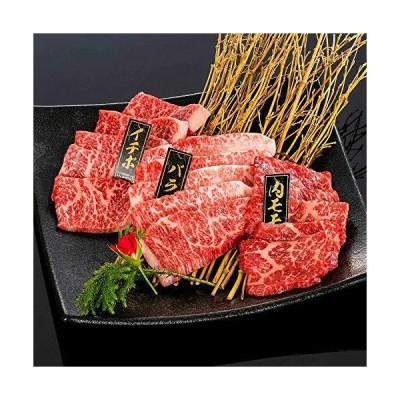 ミートファクトリー 熊野牛 焼肉懐石 約2〜3人前 焼き肉 3種 食べ比べ バラ・肩ロース・モモ 詰め合わせ 和歌山