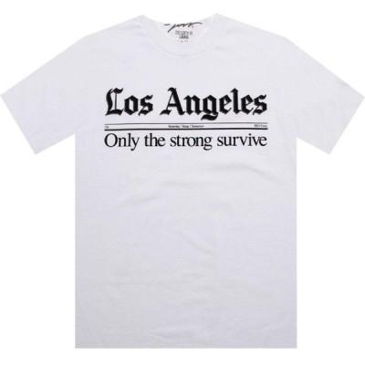 ジャスリブ JSLV メンズ Tシャツ トップス Times Tee white