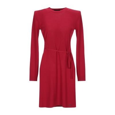 ディースクエアード DSQUARED2 ミニワンピース&ドレス レッド S ウール 100% ミニワンピース&ドレス