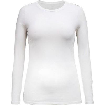 スタイル&コー Style & Co レディース トップス Long-Sleeve Top Bright White
