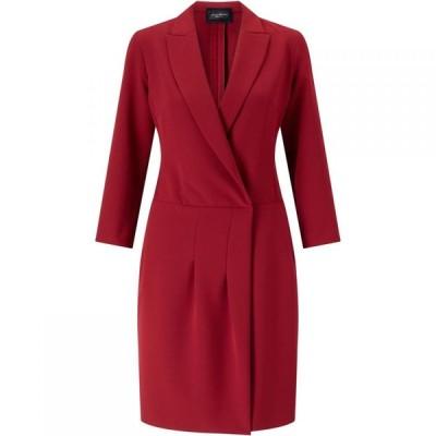 ジュームズ レイクランド James Lakeland レディース ワンピース ワンピース・ドレス Crossover Dress Red