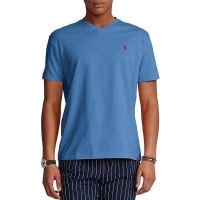 ラルフローレン メンズ シャツ トップス Big & Tall Classic-Fit Short-Sleeve Cotton Jersey V-Neck Tee