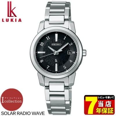 ポイント最大17倍 セイコー ルキア ソーラー電波 アイコレクション ウォッチ 腕時計 レディース SSQV081 チタン 銀 黒 国内正規品