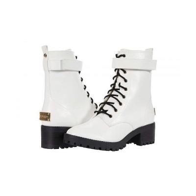 Juicy Couture ジューシークチュール レディース 女性用 シューズ 靴 ブーツ レースアップ 編み上げ Oodles - White