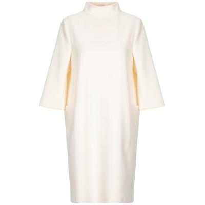 リビアナ コンティ LIVIANA CONTI ミニワンピース&ドレス アイボリー 42 ポリエステル 96% / ポリウレタン 4% ミニワンピー