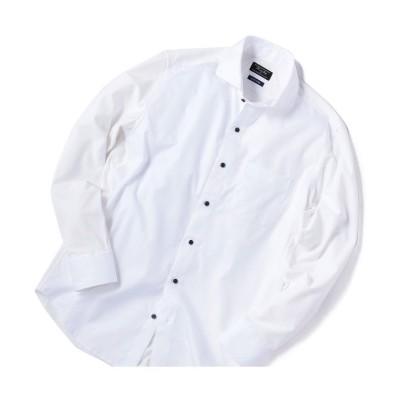 【メンズビギ】 カッタウェイビジネスシャツ メンズ ホワイト 00(SS) Men's Bigi