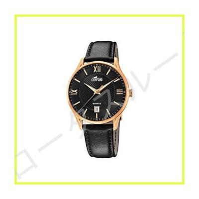 [男性用腕時計]Lotus Mens Analogue Quartz Watch with Leather Strap 18404/D[並行輸入品] 並行輸入品