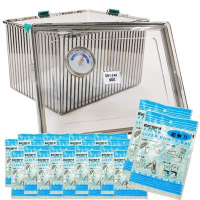Kamera LH型免插電防潮箱+20入乾燥劑組