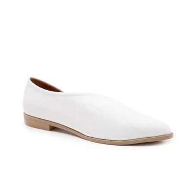ブエノ サンダル シューズ レディース Women's Brandi Casual Slip-On Flats White