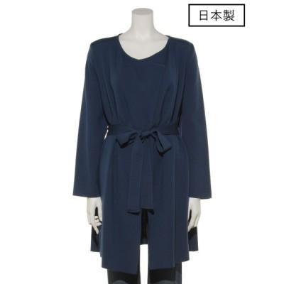 CECI OU CELA (セシオセラ) レディース 【日本製】コート ブルー 38