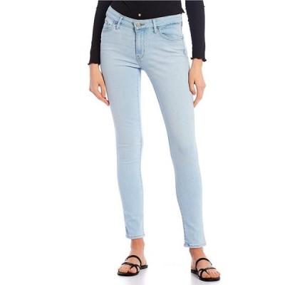 リーバイス レディース デニムパンツ ボトムス Levi'sR 711 Destructed Mid Rise Frayed Hem Skinny Jeans