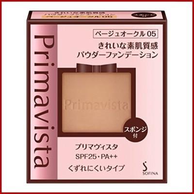 プリマヴィスタ きれいな素肌質感パウダーファンデーション ベージュオークル05 SPF25 PA++ 9g