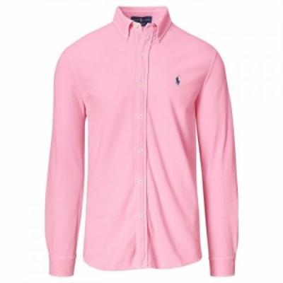 ラルフ ローレン Polo Ralph Lauren メンズ トップス Pique Shirt Carmel Pink