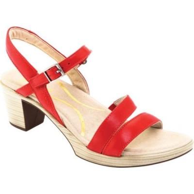 ナオト Naot レディース サンダル・ミュール シューズ・靴 Bounty Heeled Sandal Kiss Red Leather