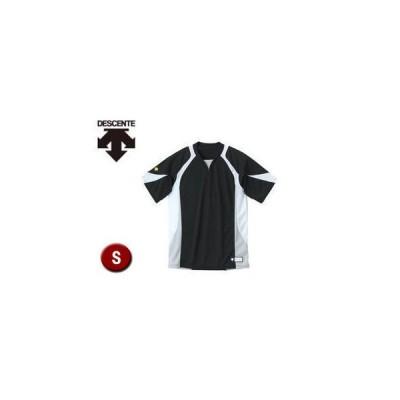 DESCENTE/デサント  DB113-BKWH セカンダリーシャツ 【S】 (ブラック×ホワイト×シルバー)