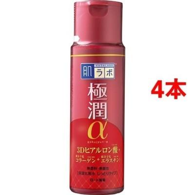 肌ラボ 極潤α ハリ化粧水しっとりタイプ (170ml*4本セット)