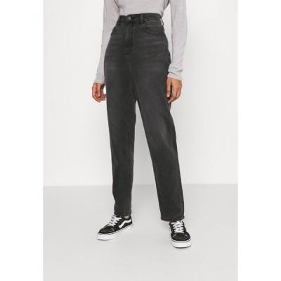 アメリカンイーグル デニムパンツ レディース ボトムス CURVY MOM  - Jeans Tapered Fit - washed black