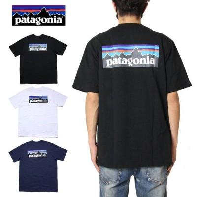 パタゴニア PATAGONIA Tシャツ 半袖Tシャツ アウトドア バックプリント メンズ レディース ブランド 大きいサイズ M's P-6 LOGO RESPOSIBILI-TEE 38504