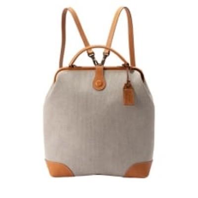 豊岡鞄 parcel cotoneダレスリュックNU56-102(ベージュ)