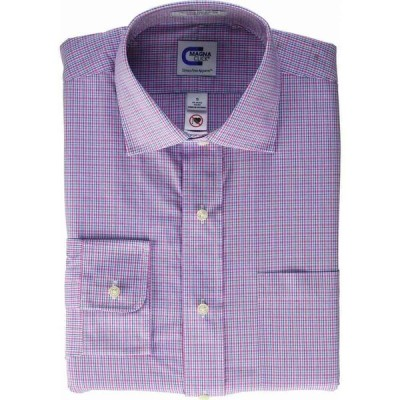 マグナ クリック MagnaClick メンズ シャツ トップス Long Sleeve Magnetically-Infused Button-Down Shirt Pink/Blue