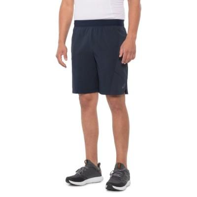 アシックス ASICS メンズ フィットネス・トレーニング ショートパンツ ボトムス・パンツ Dot Training Shorts - 9 Space Blue Hthr