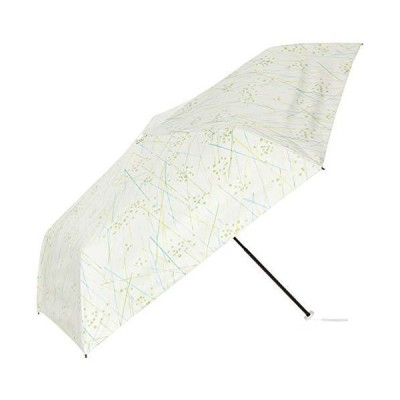 [ムーンバット] 軽量パラソル 遮熱・遮光 エスタ(estaa) 晴雨兼用折りたたみ傘 ライン ライトグリーン レディー?
