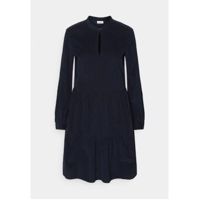マルコポーロ デニム ワンピース レディース トップス DRESS GATHERED SKIRT - Day dress - scandinavian blue