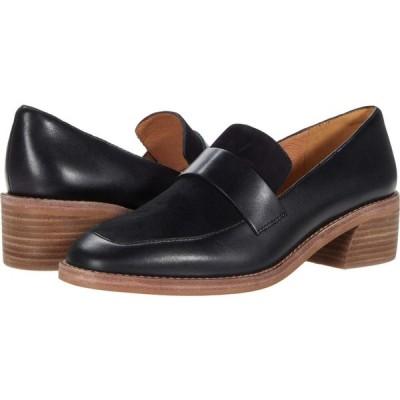 メイドウェル Madewell レディース ローファー・オックスフォード シューズ・靴 Alex Heeled Loafer True Black Suede Mix