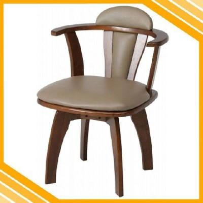 回転ダイニングチェアー 肘付き ダイニングチェア 回転椅子 回転イス 回転チェア ダイニングチェアー チェア 椅子 イス 食卓椅子 レトロ シンプル 送料無料
